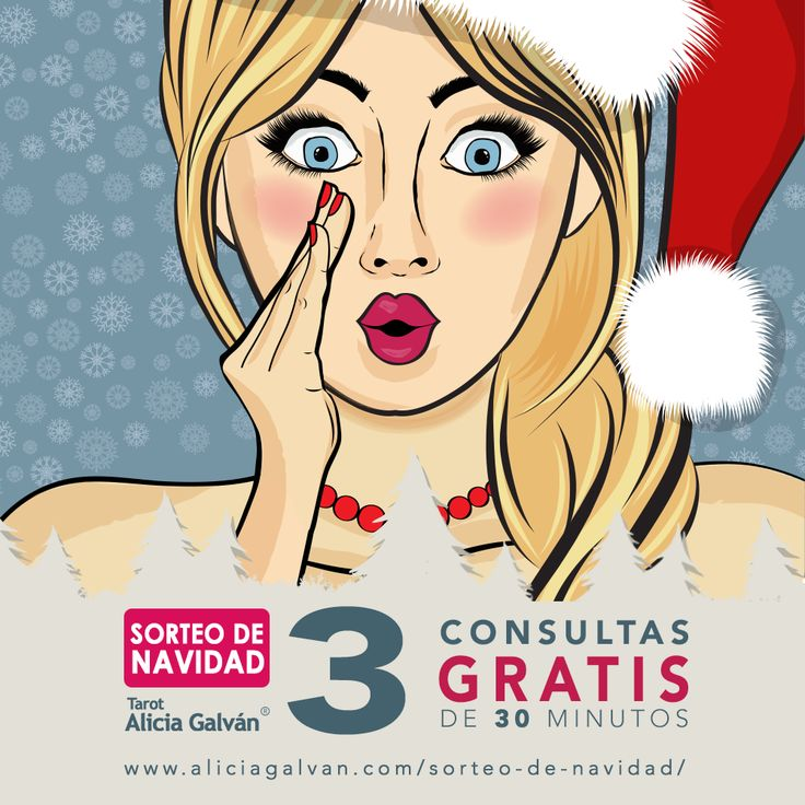 ¿Quieres una consulta #gratis de #Tarot? ¡Participa en nuestro sorteo especial de #Navidad y consigue la tuya!