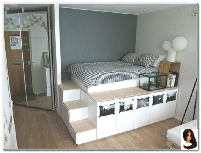 Bett For Home Decor Stairs Lagerung Plattform Voll Plattform