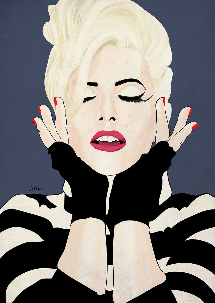 Portrait of polish singer Kora