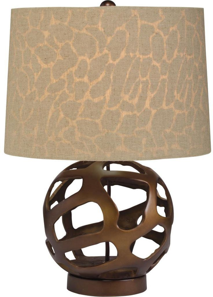 83 best transitional table lamps images on pinterest transitional kichler 70871 one light bronze table lamp aloadofball Image collections