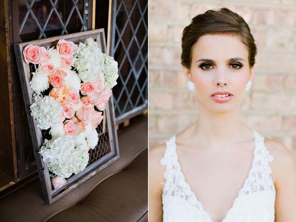 Monet Wedding Inspiration - CRAZY FLOWER WALL ART
