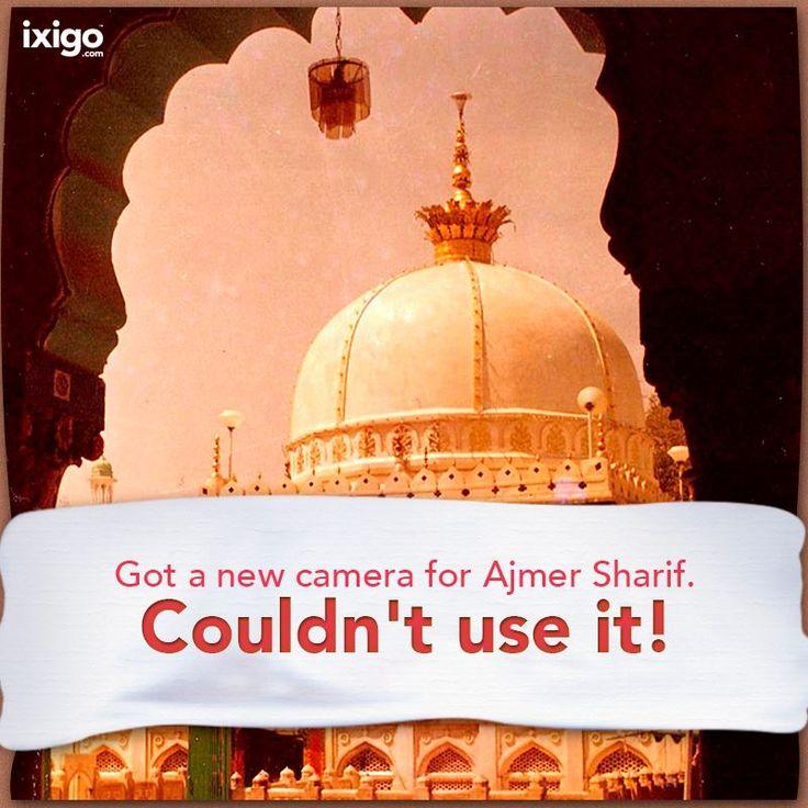 Photography not allowed inside the Ajmer Sharif shrine. #travel #india