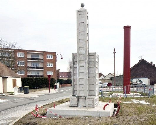 Courcelles-lès-Lens (62) tour de plomb