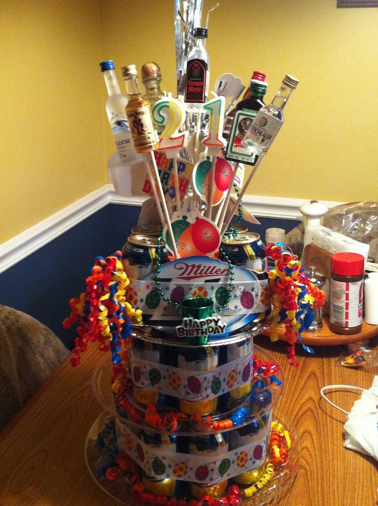 9 Best Birthday Beer Cakes Images On Pinterest Birthday
