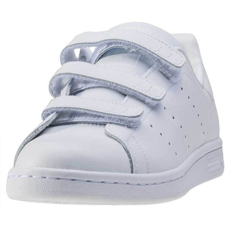 adidas Stan Smith Cf J Kids Trainers White White New Shoes