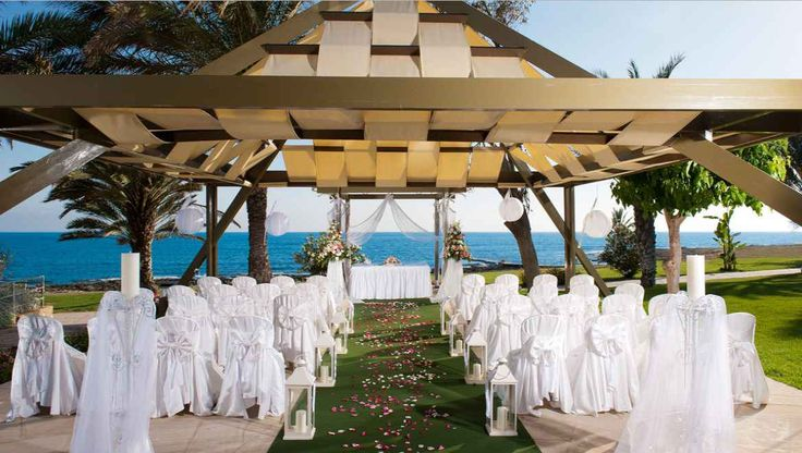 Garden Wedding At The Gazebo Paphos Cyprus Package From Attica Weddings All Inclusivehotels