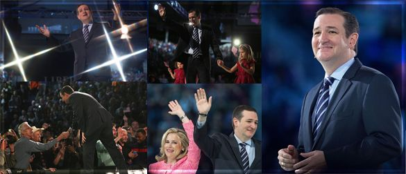 """Ted Cruz's Dazzling Announcement Speech Scared the Heck Out of the Left - The Rush Limbaugh Show 