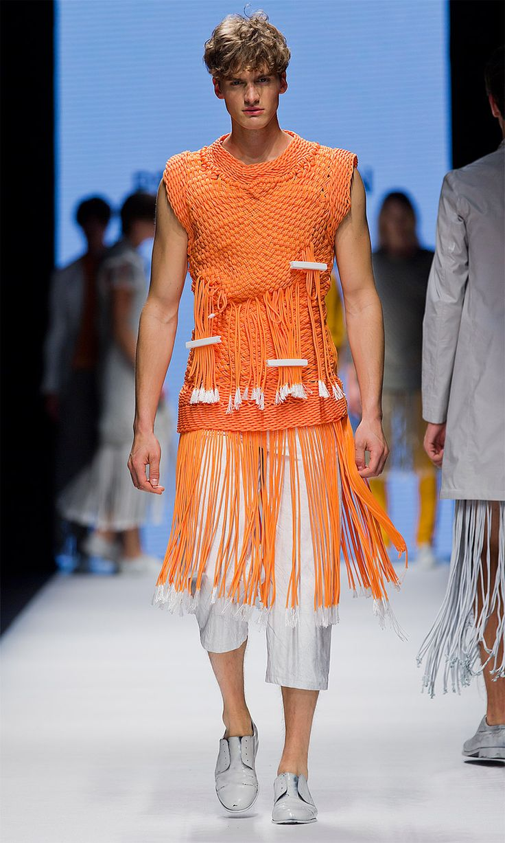 Per Hansson - The Swedish School of Textiles SS15 » Fucking Young!