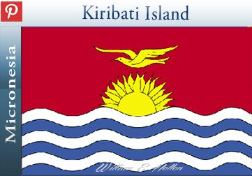 Kiribati, officially the Republic of Kiribati, is an island nation in the central Pacific Ocean. The nation comprises 33 atolls and reef islands and one raised coral island, Banaba. They have a total land area of 800 square kilometres and are dispersed over 3.5 million square kilometres. Their spread straddles the equator and the International Date Line, although the Date Line is indented to bring the Line Islands in the same day as the Kiribati Islands. The permanent population is just over