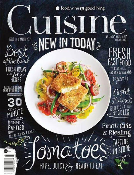 Design inspiration involving food