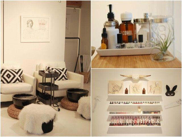 24 best nail salon interior images on pinterest nail for 24 hour nail salon atlanta