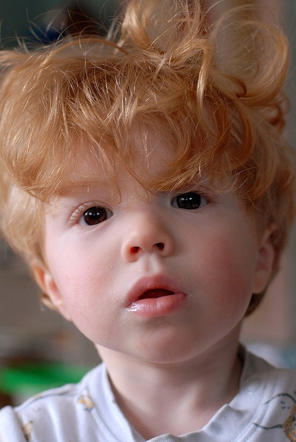 my son is marrying a red head....so I'm just thinking.....