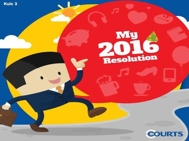 Kuis Court ID Resolusi Tahun Baru Berhadiah Voucher Belanja - Kali ini ada info kuis online berhadiah voucher belanja yang diadakan oleh Courts Indonesia