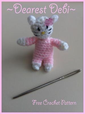 Mini Hello Kitty Amigurumi : 1000+ images about Crochet Hello Kitty on Pinterest