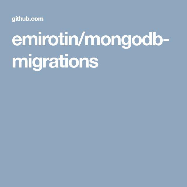 emirotin/mongodb-migrations