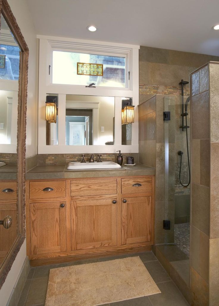 1000 Ideas About Craftsman Bathroom On Pinterest