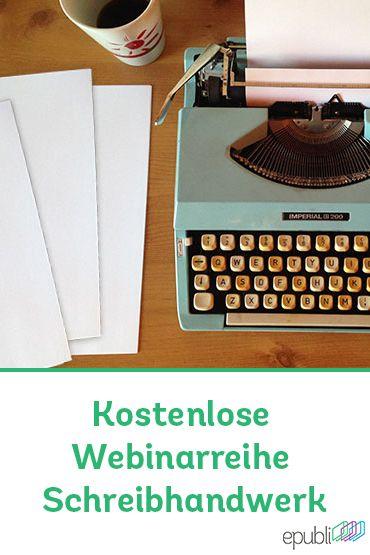 """Das erste #Webinar von Tanja Steinlechner zum Thema """"Fesselnde Figuren schaffen"""" war bei Autoren sehr beliebt und erfolgreich. Seid auf die nächsten Webinare gespannt! http://www.epubli.de/blog/webinarreihe-schreibhandwerk #schreibtipps #writing #schreibschule"""