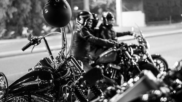 At Harley Davidson Athena event!