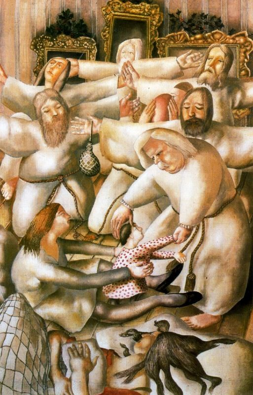stanley spencer paintings | ... About Time: The Nativity by English artist Stanley Spencer 1891-1959