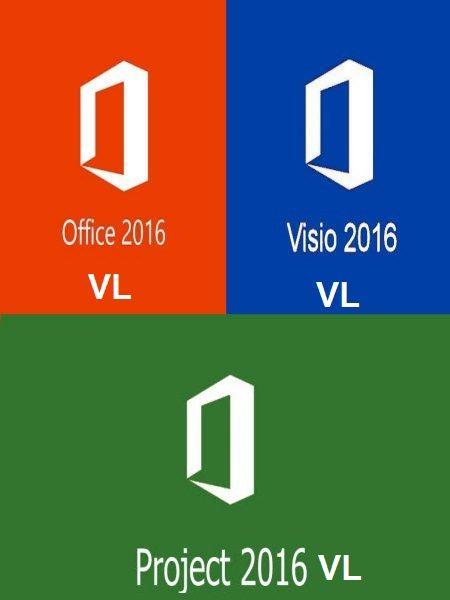 Microsoft Office 2016 Pro-Visio-Project 16.0.4300.1000