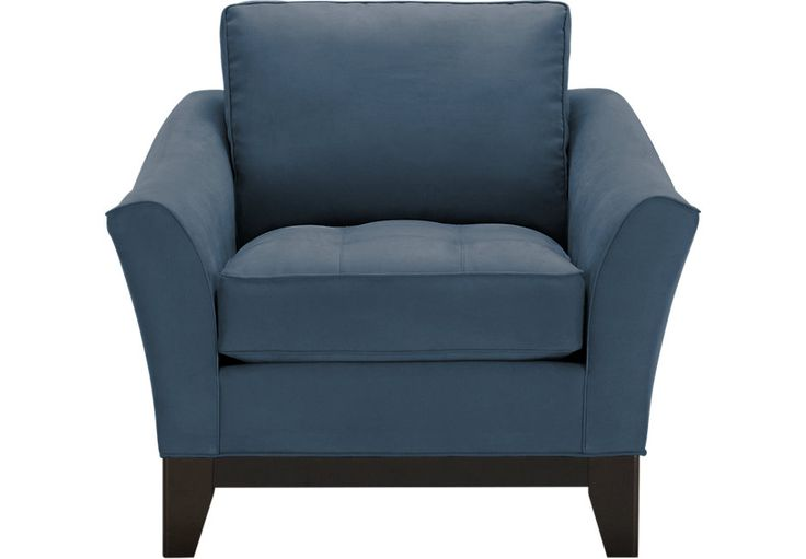 Cindy Crawford Home Newport Cove Indigo Chair.499.99. 40W x 32D x 36H . Find affordable Chairs for your home that will complement the rest of your furniture. #iSofa #roomstogo