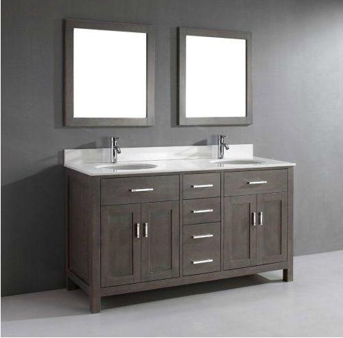 63 Inch Double Sink Bathroom Vanity