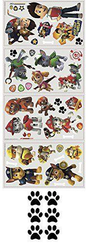 Nickelodeon Paw Patrol Wall Decals and Mini Paw Print Bundle Paw Patrol http://www.amazon.com/dp/B00O14PRZY/ref=cm_sw_r_pi_dp_Kx6Kub06WXXCM