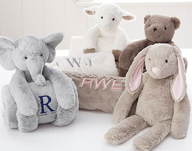 Looking for a lovely gift for a newborn? Our PBK plush and blankets are the perfect keepsakes bitty babies can cuddle with.