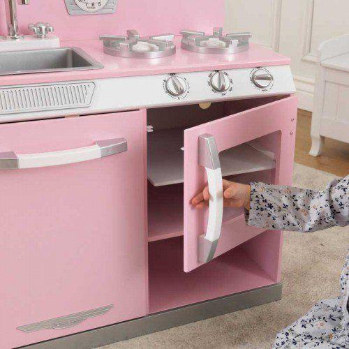 Rosa Retro Küche Kühlschrank Für Kidkraft Rosa Retro Küche ...