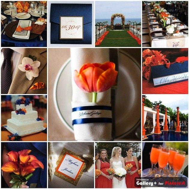 91 Best Coastal Color Inspiration Navy Teal Orange And Grey Images On Pinterest: 17 Best Ideas About Blue Orange Weddings On Pinterest