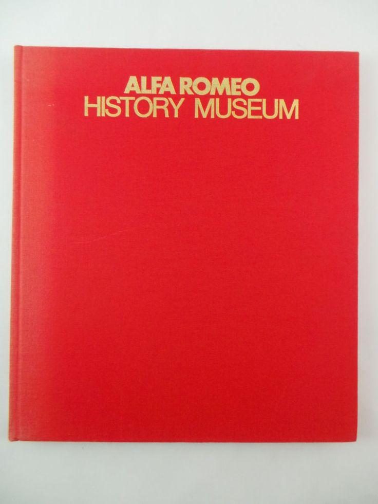 Rare 1979 ALFA ROMEO History Museum Book Arese Gonzalo Garcia Photographs