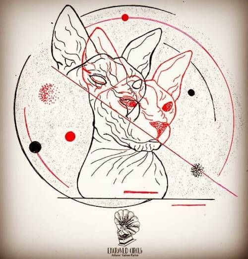 Sphynx ..red &black doodle.. #paintingoftheday #drawing #drawingoftheday #blaclart #painting #taty #tattooart #art #painteveryday #engraved #engravedcircus #circus #circustattoo #athens #athenstattoo #zografou #zografoutattoo #tattooartist #artist #pi #pitheartist #cat #cattattoo #sphynx #sphynxcat #linework #dotwork #miniaturetattoo