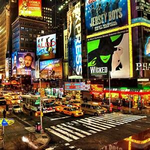 NEW YORK: New York City - Broadway.