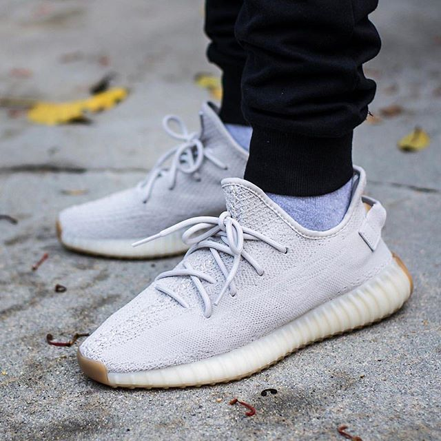 separation shoes 39847 f7854 Select sizes of the ADIDAS YEEZY 350 V2 SESAME are now available... -