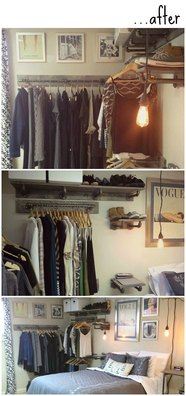 Labeled Girl | The Blog exposed or open closet