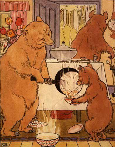 L Leslie Brooke England 1862 1940 The Three Bears