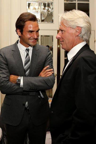 ATP Rankings 40th anniversary celebrations: Roger Federer & Bjorn Borg