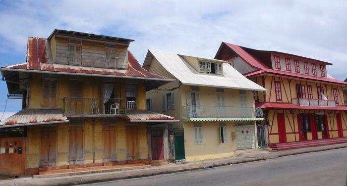 Maison Créole, Cayenne,architecture