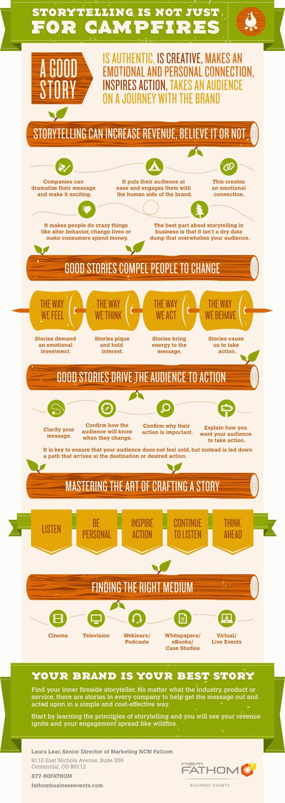 Storytelling is not just around the campfire