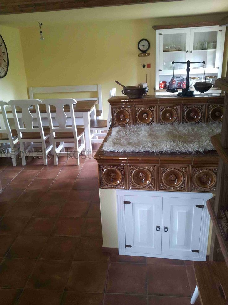 rustikální bílý nábytek sweet home