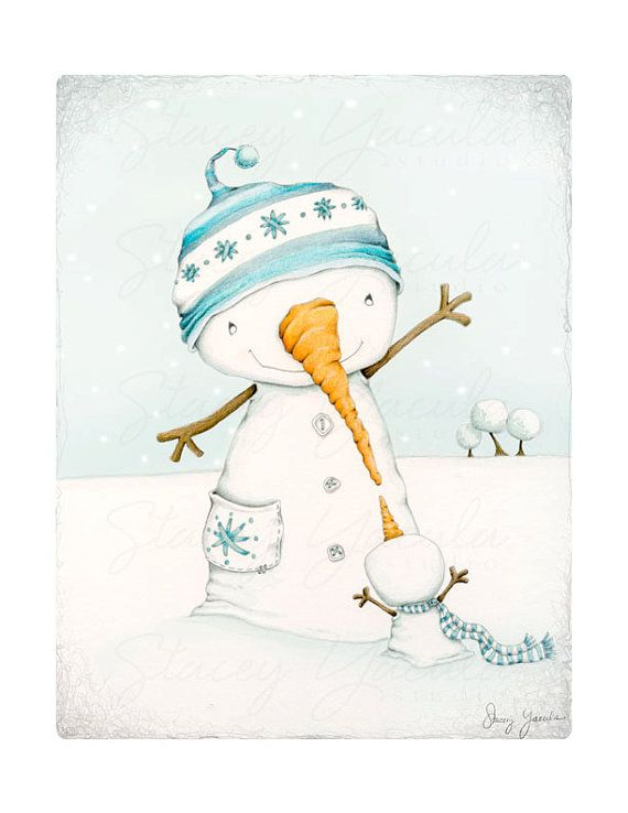 Hey, I found this really awesome Etsy listing at https://www.etsy.com/listing/198867096/art-print-snowman-snowmen-winter-snow