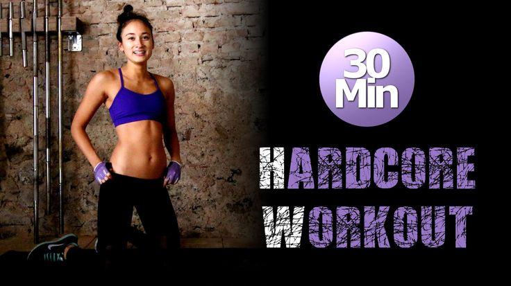 30 Min Hardcore HIIT Workout - Fettverbrennung und Muskelkater garantier...