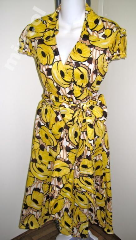VICTORIA'S SECRET Przepiekna suknia w kwiaty r.38