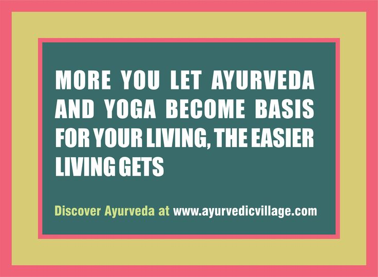 Let Ayurveda Take Over at  http://www.ayurvedicvillage.com/