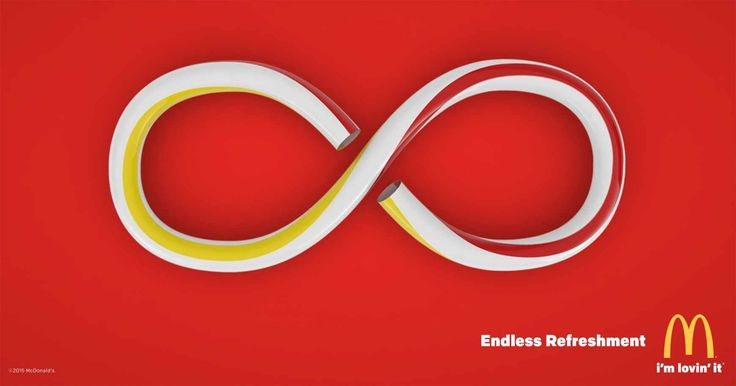 McDonald's: Infinity straw