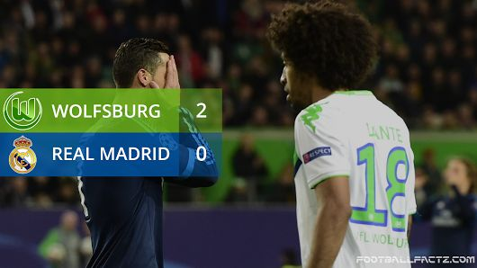 Wolfsburg 2 - 0 Real Madrid, Champions League 06/04/2016
