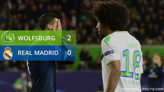 Wolfsburg 2 - 0 Real Madrid, Champions League 06/04/2016