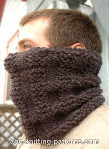 ABC Knitting Patterns - Cold Days Cowl