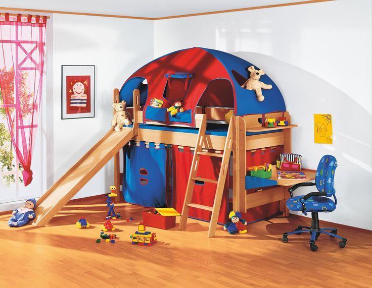 mit dem hochbett varietta von paidi lassen sie. Black Bedroom Furniture Sets. Home Design Ideas