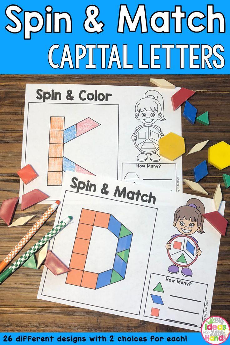 Pattern Blocks Mat Capital Letters Math Center Fun Phonics Activities Phonics Activities Numbers Kindergarten [ 1104 x 736 Pixel ]